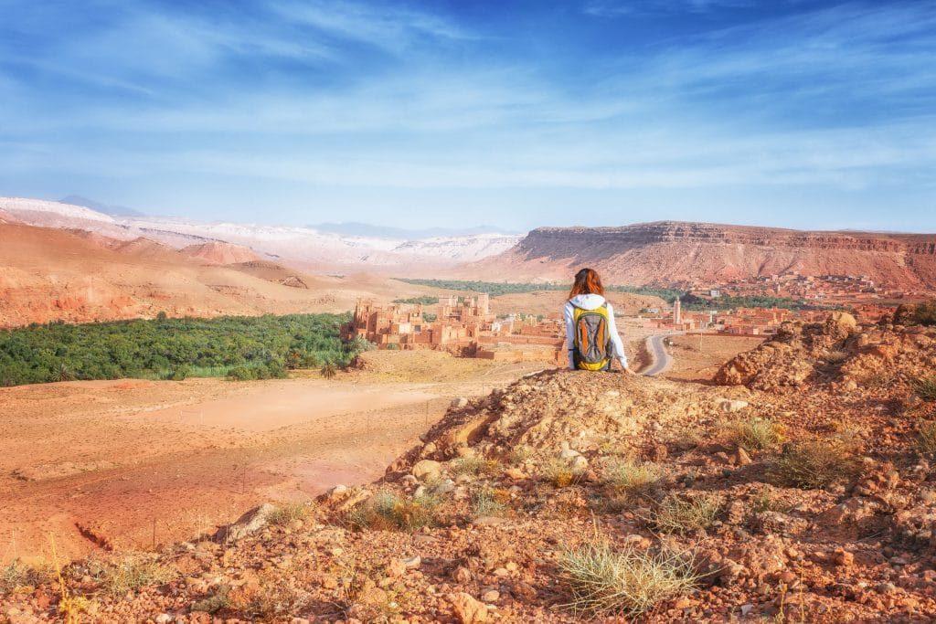 Dolina Ounilla Maroko