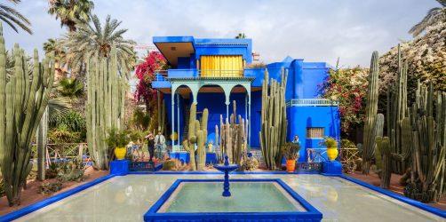 Ogród Majorelle Marrakesz