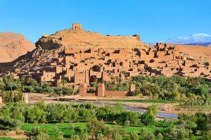 Maroko Kazba Ait Ben Haddou