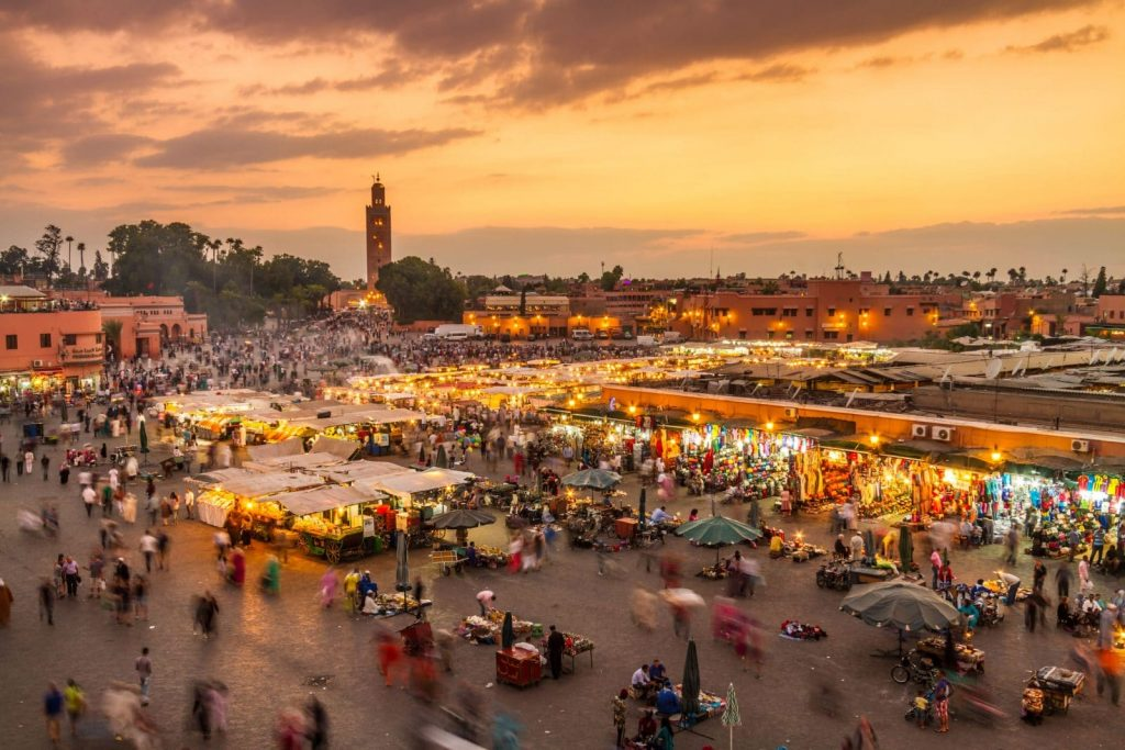 Maroko Marrakesz