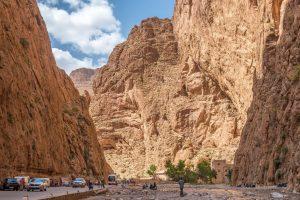 Maroko Wąwóz Todra