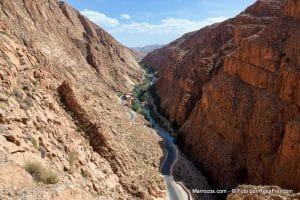 Wąwóz Dades w Maroku
