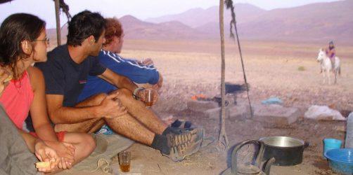 Nomadzi w Maroku