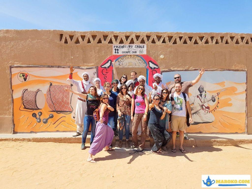 Maroko wycieczka grupowa na pustynie
