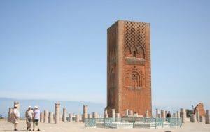 Wieża Hassana w Rabacie