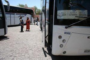 Autobusy w Maroku
