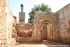 Dzielnica Chellah w Rabacie, Maroko