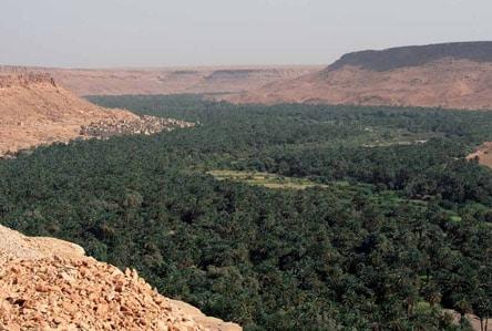 Dolina Ziz na południu Maroka