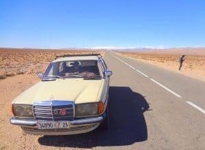 Grand taxi w Maroku