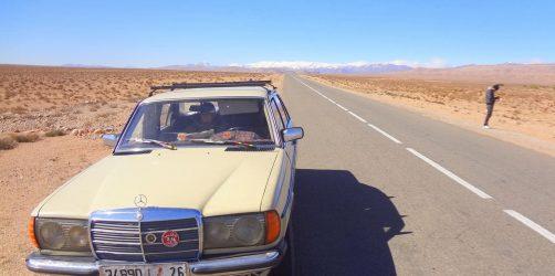 Grandt Taxi transport w Maroko