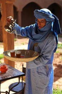 Miętowa herbata w Maroku