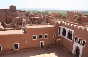 Kazba Tourirt w Ouarzazate w Maroku