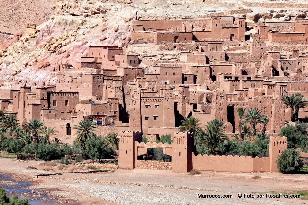 UNESCO Ksar Ait Ben Haddou niedaleko Ouarzazate