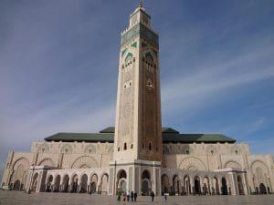 Meczet Hassana II w Casablance - największy meczet w Maroku