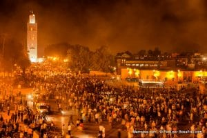 Medina w Marrakeszu