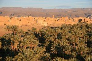 Oaza Nkob w Maroko