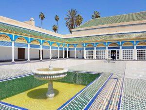 Pałac Bahia w Marrakeszu