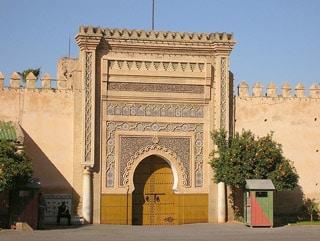 Meknes w Maroku