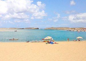 Plaża w Oualidia w Maroko