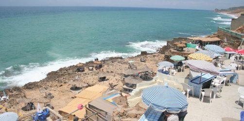 Plaża w Tangerze Maroko