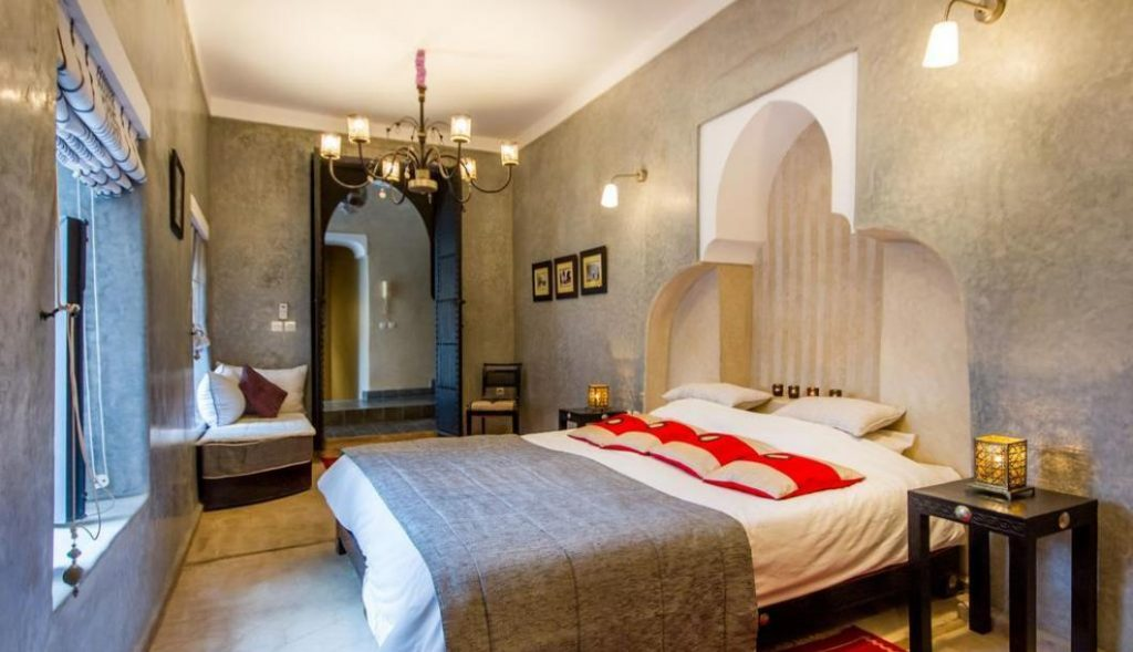 Maroko Riad Marrakesz