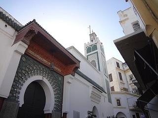 Medina w Tangerze w Maroku