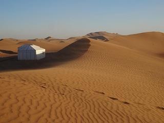 Wydmy Chegaga niedaleko M´Hamid, Maroko