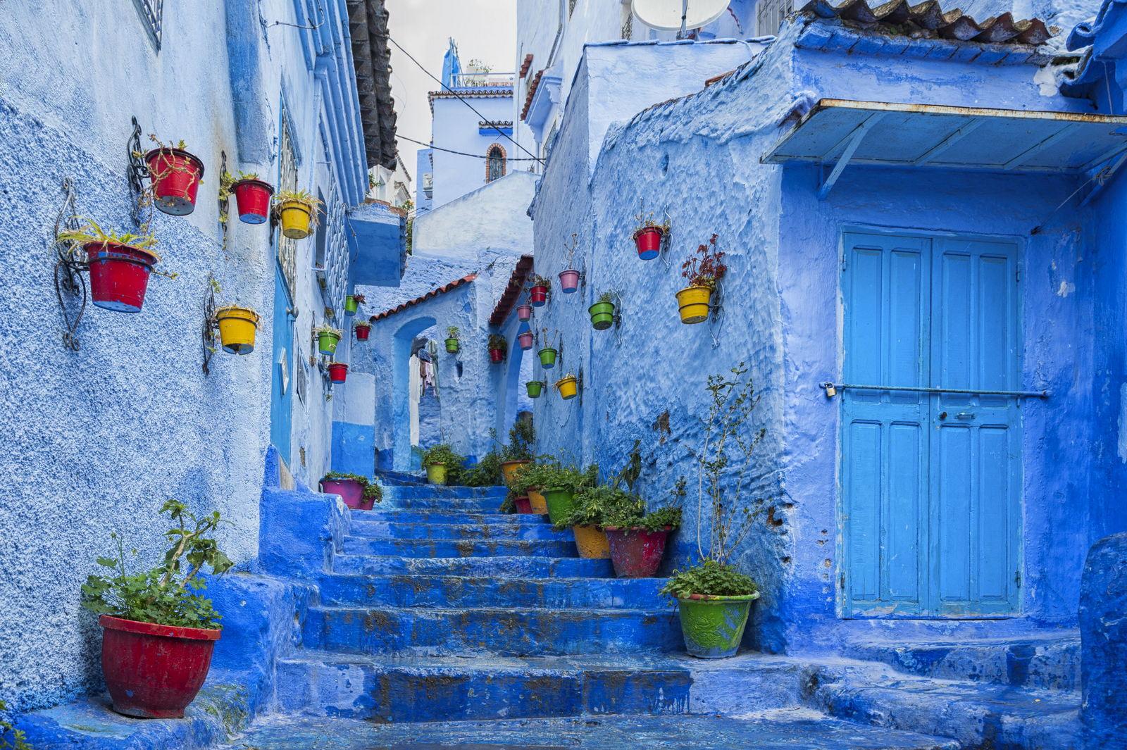 Chefchaouen medina Maroko