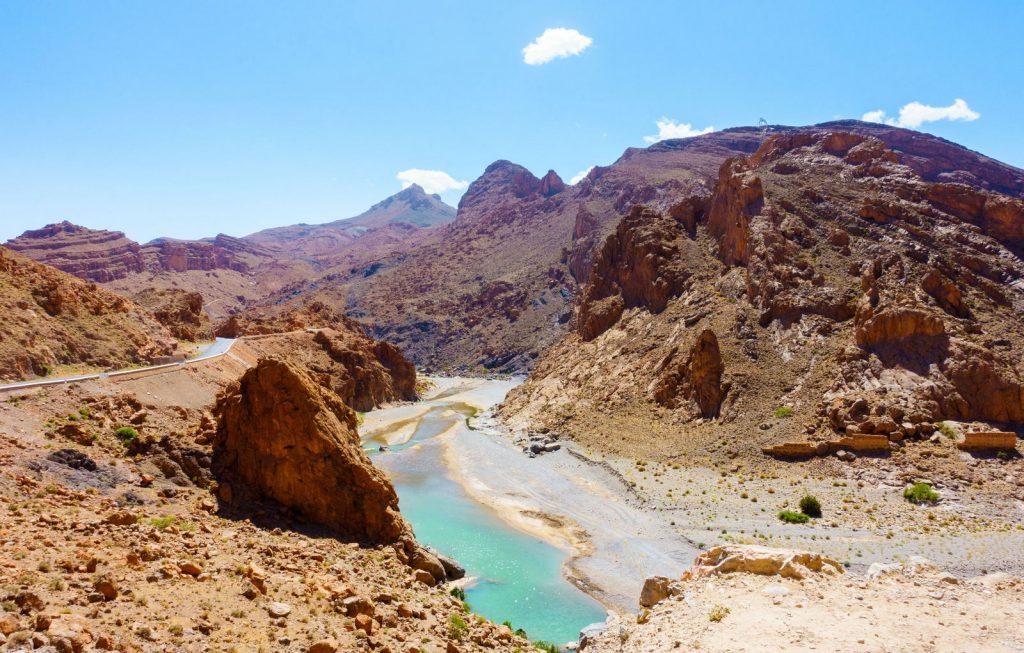 Dolina Ziz w Maroku