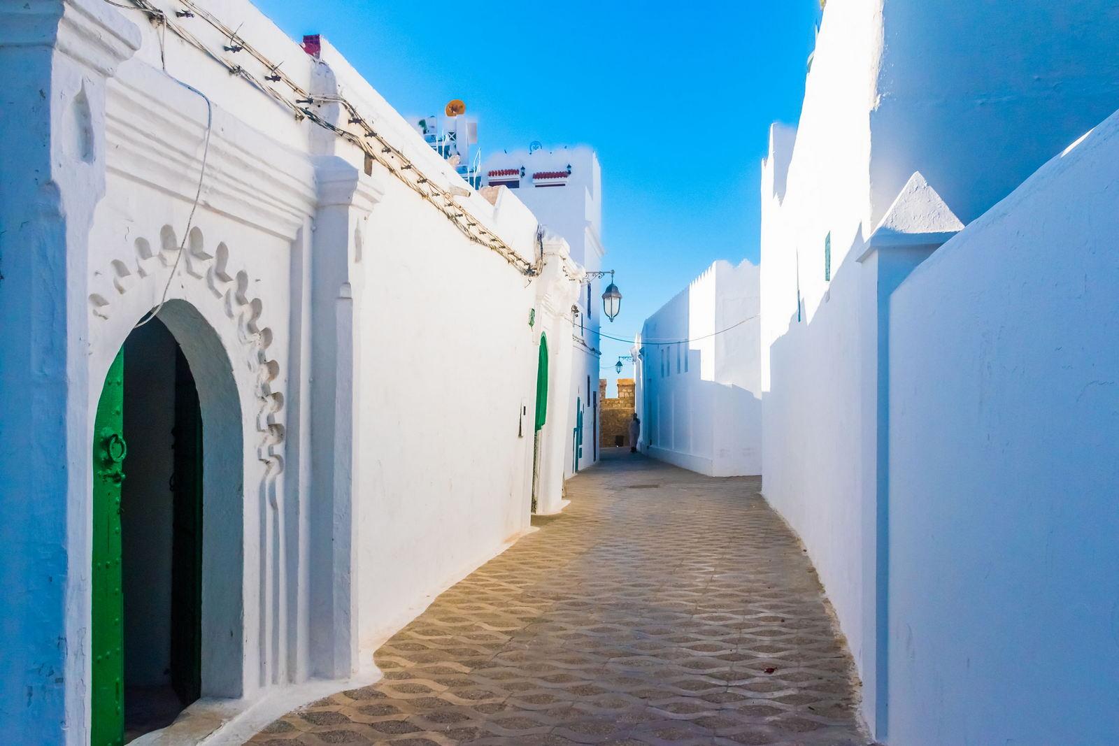 Medina w Asilah Maroko