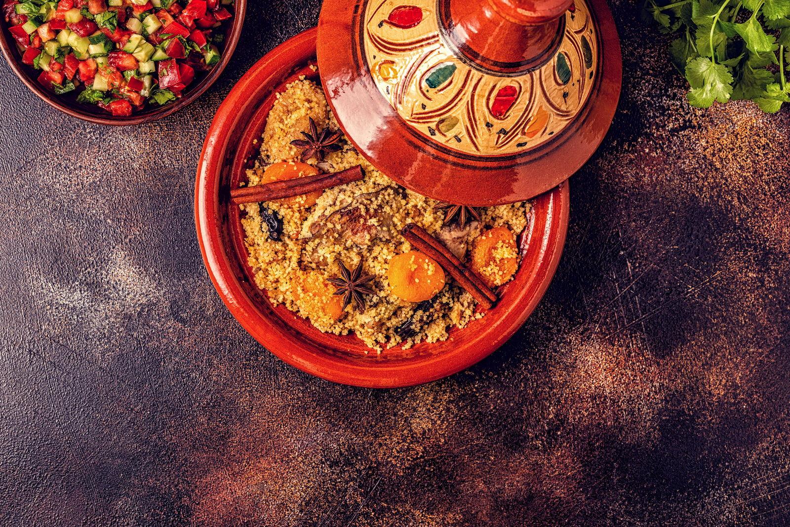 Maroko jedzenie tadżin