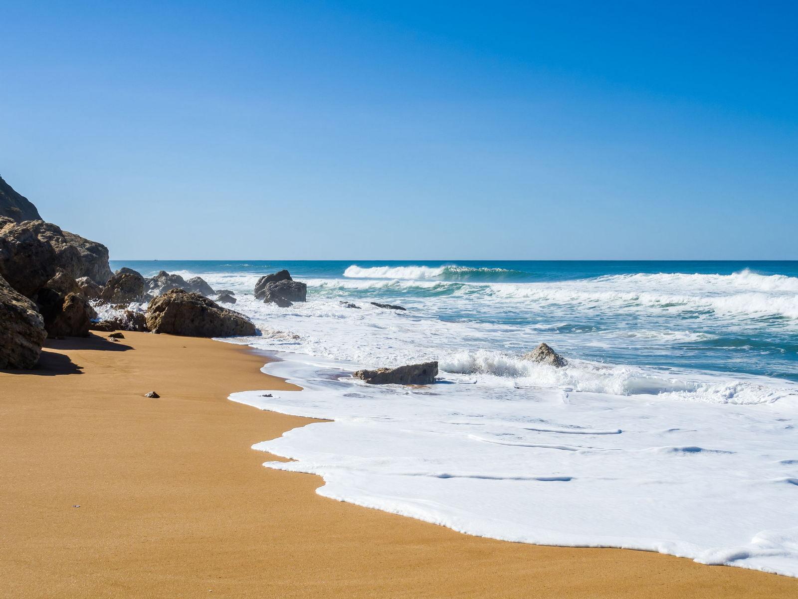 Maroko plaża w Safi