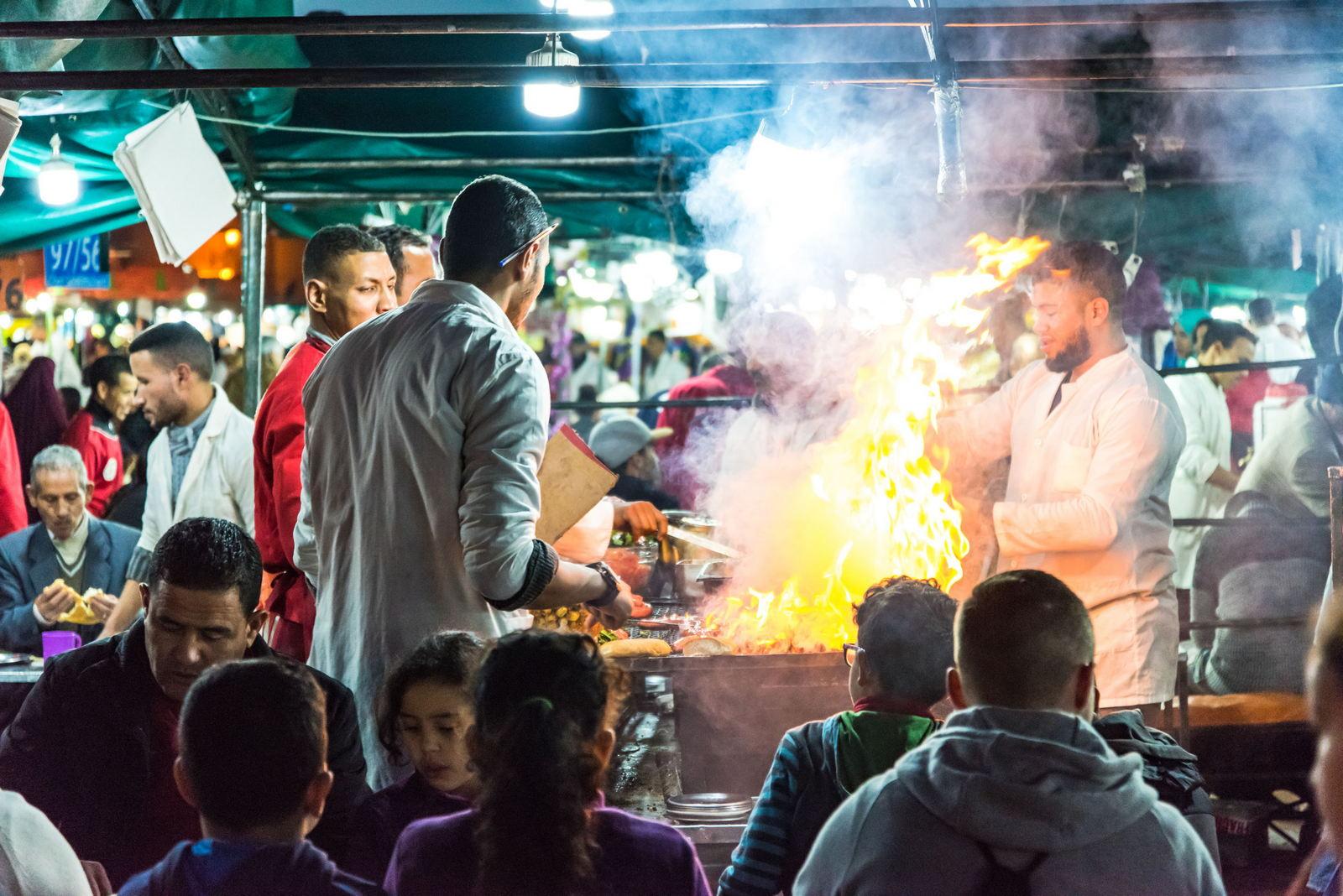 Marrakesz jedzenie