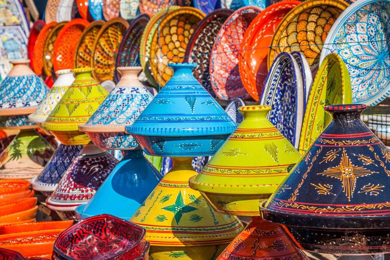 Marrakesz pamiątki