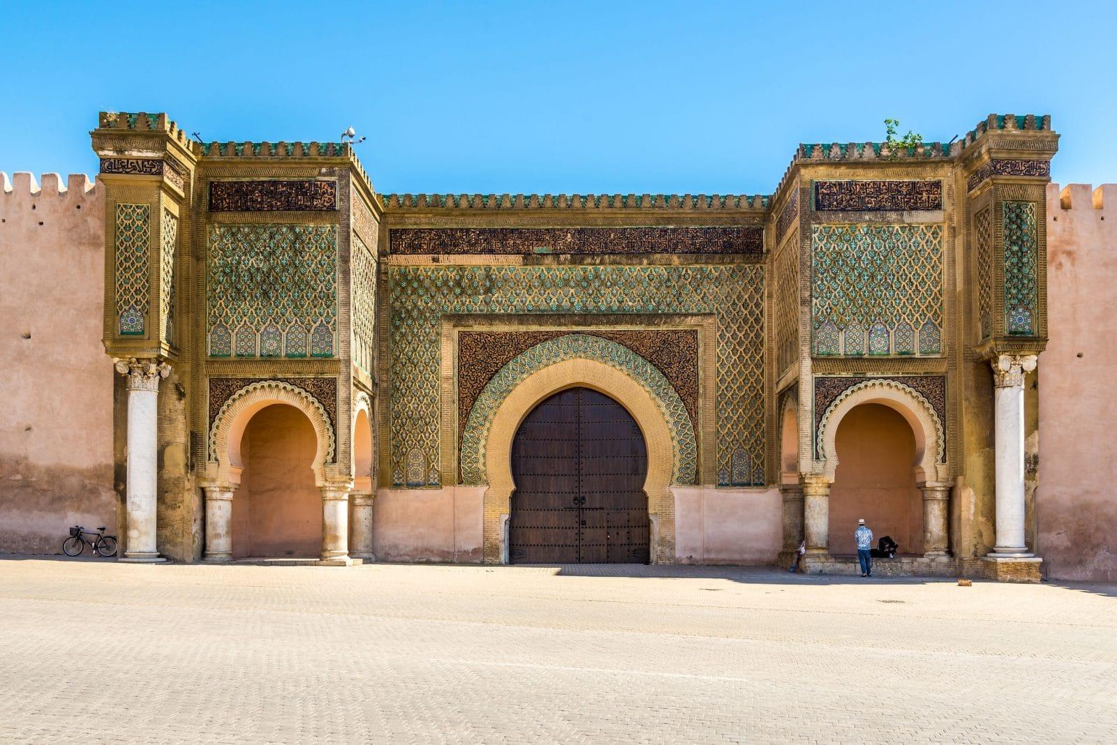 Meknes brama Mansour Maroko