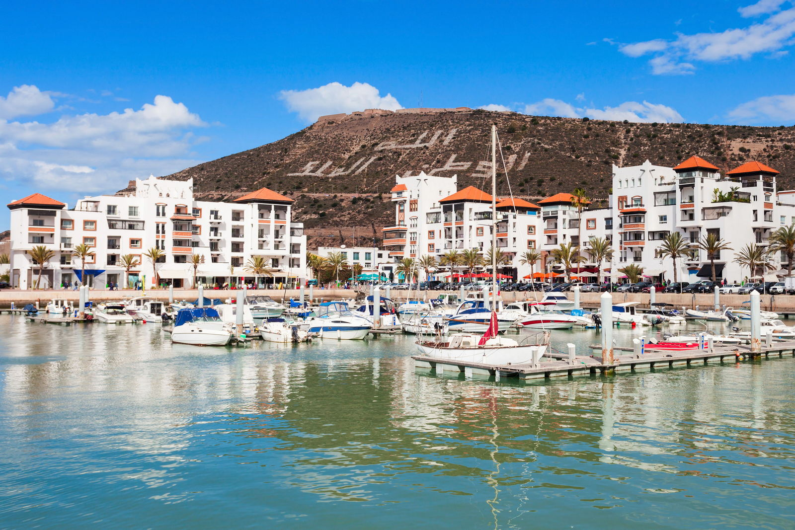 Miasto Agadir w Maroku