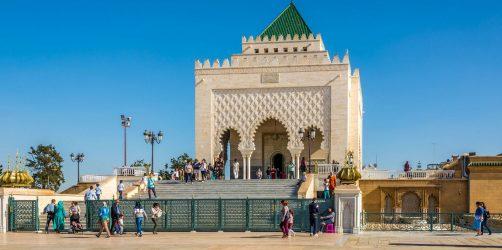 Miasto Rabat w Maroku