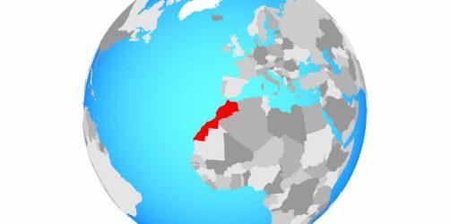 Gdzie jest Maroko