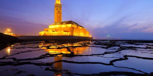 Meczet Hassana II w Casablance, Maroko