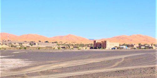 Pustynia w Merzouga Maroko
