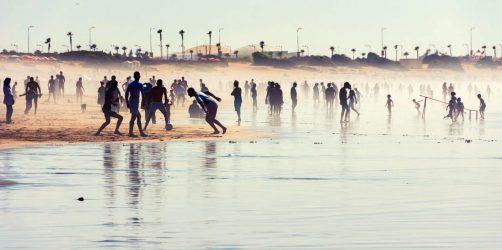 plaża w Casablance