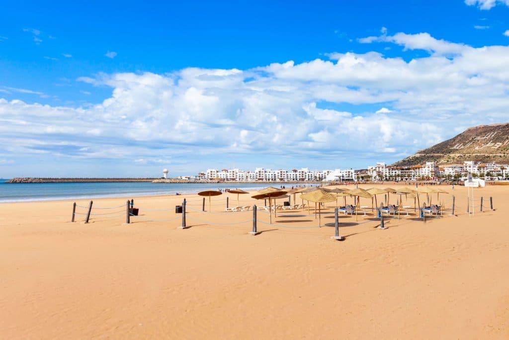 Plaża w Agadirze - Maroko Pogoda