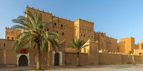 Atrakcje Ouarzazate -Kazba Taourirt