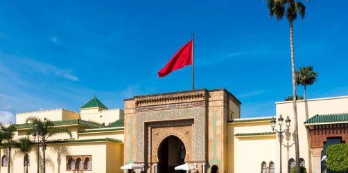 Pałac królewski w Rabacie, Maroko