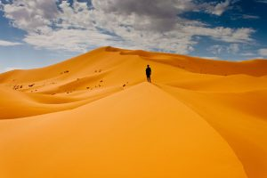 Wydmy Erg Chebbi, Merzouga, Maroko