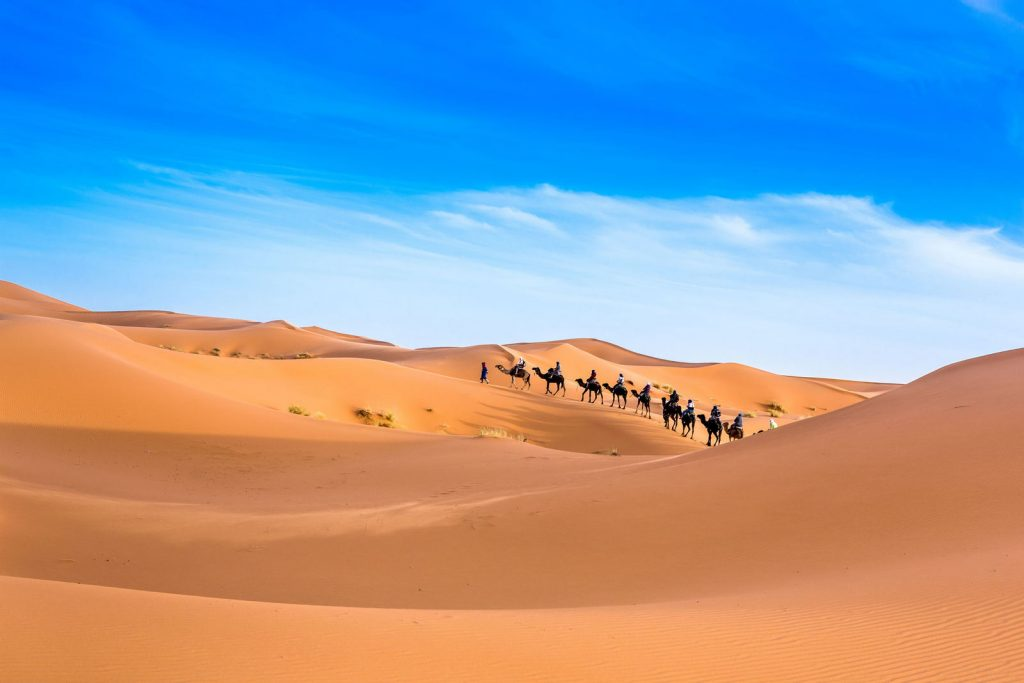 Merzouga Maroko