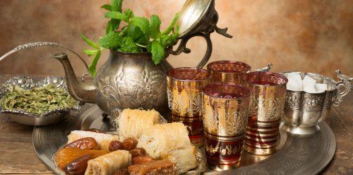 marokanskie-ciasteczka-herbata -mietowa