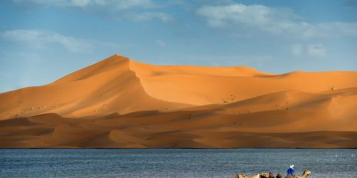 Jezioro Merzouga, Maroko
