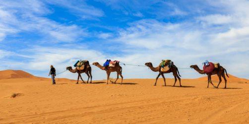 Marrakesz na wydmy Erg Chebbi